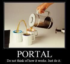 Portal style!