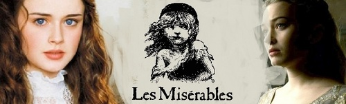 Les Miserables wolpeyper with a portrait called Pretend promo poster