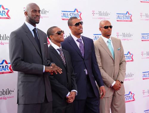 射线, 雷 Allen All-Star 2011