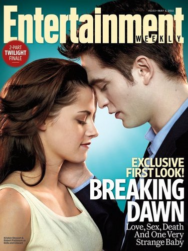 Rob & Kristen on the cover of EW