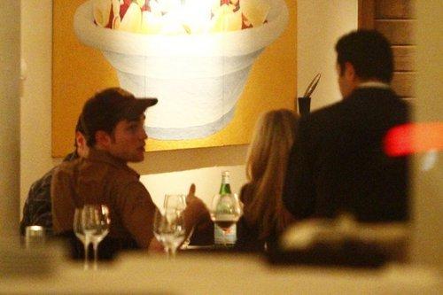 Robert pattinson in berlin avondeten, diner
