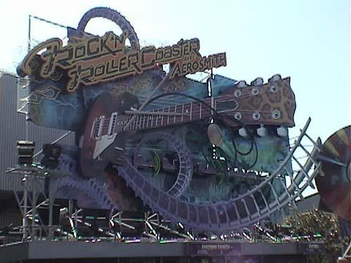 Rock 'n' Roller Coaster at Walt Disney Studios Park