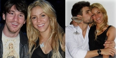 shakira AND MESSI OR shakira AND PIQUE ?
