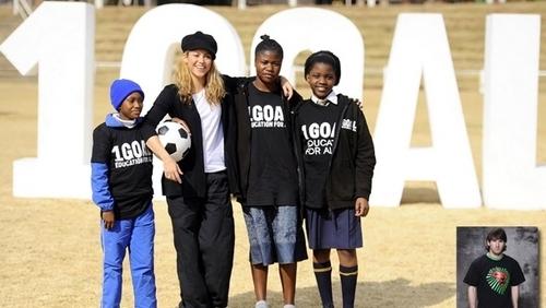Shakira and Messi UNICEF