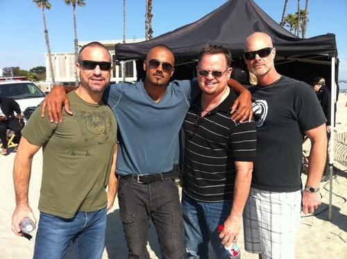 Shemar with friends
