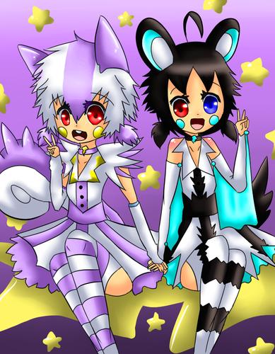 Sonica the Emonga and Dana the Pachirisu