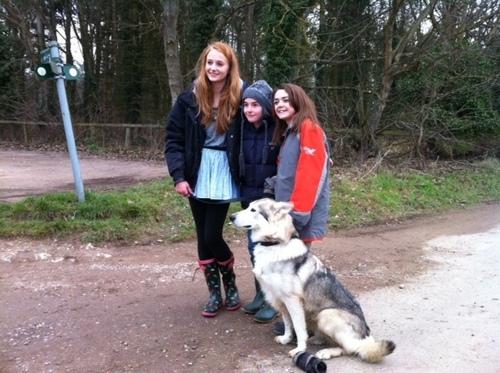 Sophie, Isaac, Maisie & Zunni