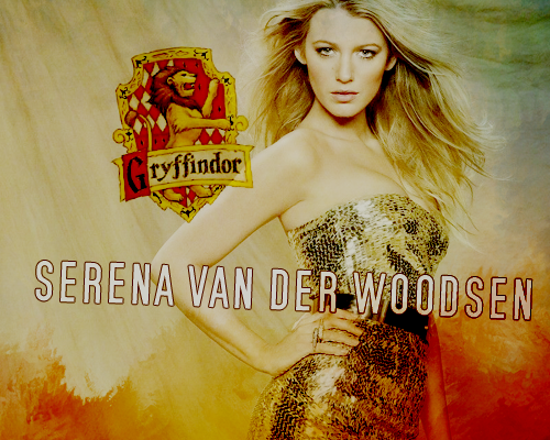 Sort of Serena 面包车, 范 der Woodsen - Gryffindor