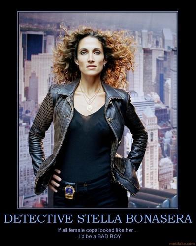 Stella Bonasera tagahanga art