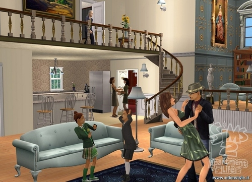 TS3 Apartment Life