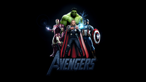 The Avengers kertas dinding called The Avengers Assemble