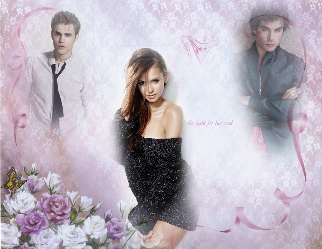 The Vampire Diaries-Damon,Elena,Stefan