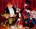 The gang`s all here ! - bugs-bunny wallpaper