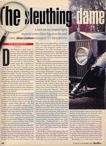 The sleuthing dame (article - page 1)
