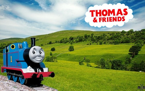 Thomas And Friends kertas dinding