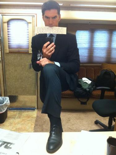 Thomas Gibson, last دن on set of Season 6