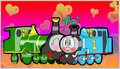 Thomas and Emily Kiss - thomas-and-friends fan art