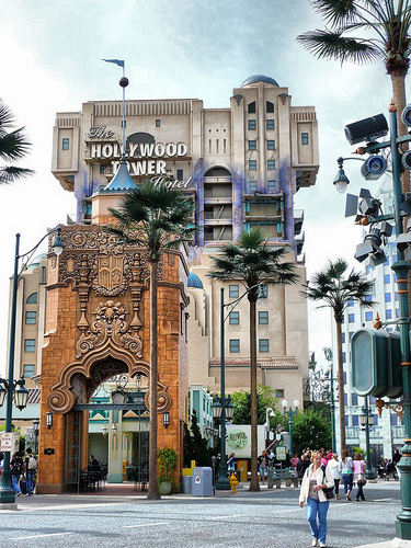 Tower of Terror at Walt 迪士尼 Park