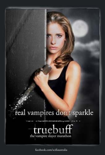 Buffy The Vampire Slayer kertas dinding titled TrueBuff Marathon Posters