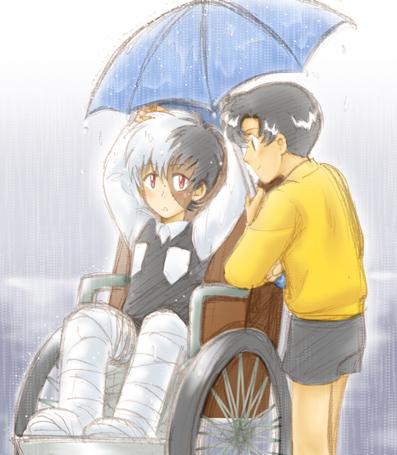 Umbrella - Black Jack + Makube