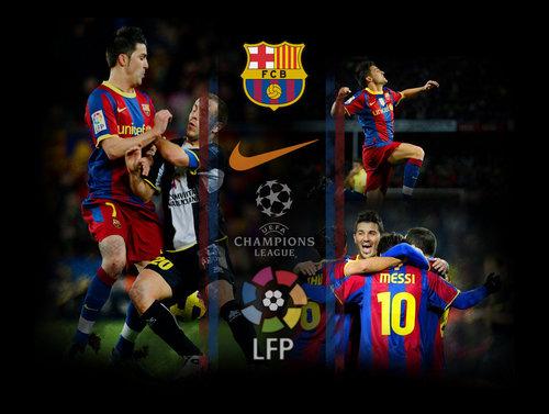 FC Barcelona wallpaper titled Visca el Barca