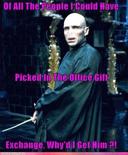 Voldemort Funnies XD