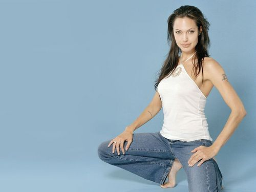 Wallpaper of Angelina - angelina-jolie Wallpaper