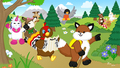Webkinz on a Hike - webkinz fan art