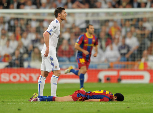 Xabi Alonso (Real Madrid - Barcelona)