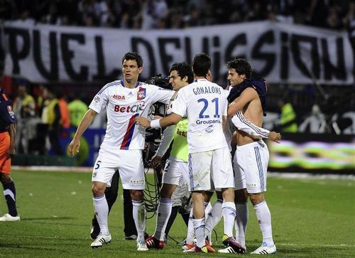 Yoann Gourcuff - Lyon 3:2 Montpellier (28.04.2011)