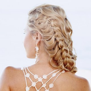 braided hairstyle for prom