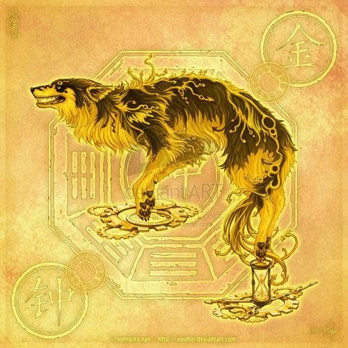 element Волки