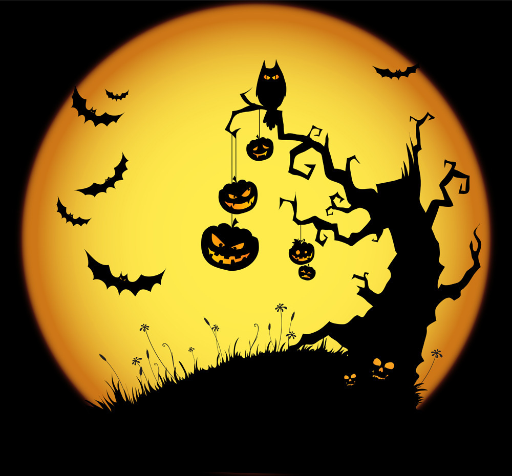 """the night of halloween Price: """"'twas the night before halloween, and all through the house, all the creatures were stirring, except for the mousethe monsters had gathered to plan and prepare,for the trick-or-treaters who soon would be there""""."""