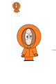 my first drawing of Kenny on paint - kenny-mccormick-south-park photo