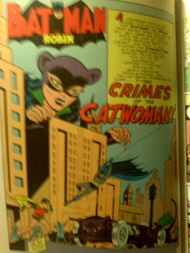 old catwoman in costume from my collecion