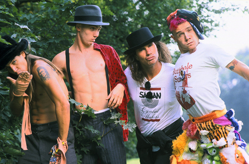 Red Hot Chili Peppers 바탕화면 called rhcp