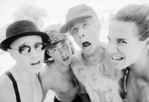 Red Hot Chili Peppers wallpaper probably containing a portrait called rhcp