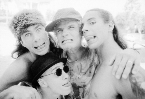 Red Hot Chili Peppers wallpaper probably containing sunglasses and a portrait entitled rhcp