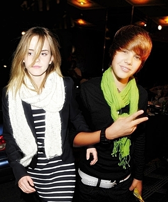 romantic justin and emma watson