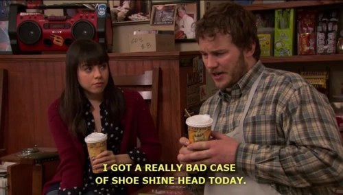 shoeshine head