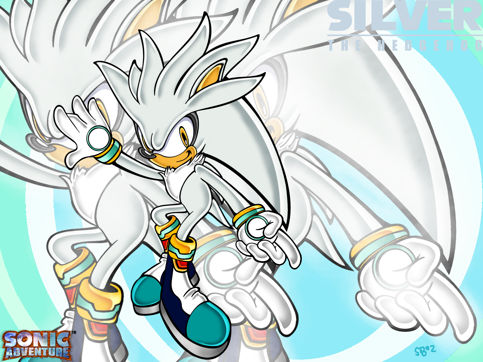 Sonic Knuckles Silver Scourge And