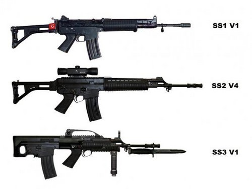 ss variant (indonesia weapons standart nato)