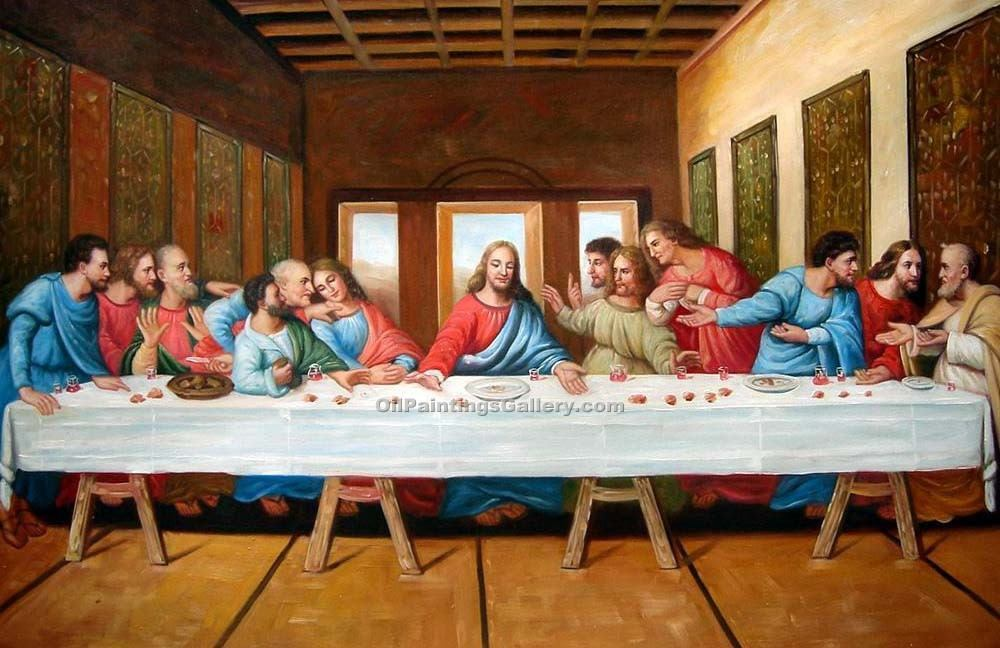 Jesus the last supper