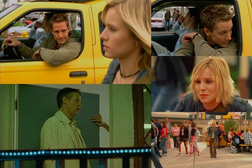 Veronica Mars achtergrond probably with a street, a carriageway, and a diner called veronica mars