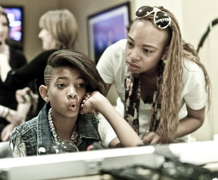 willow and hairstylist