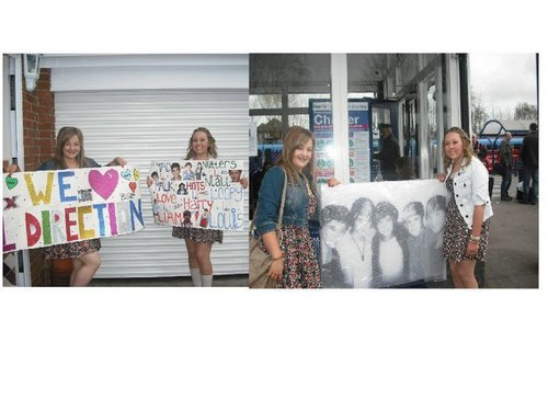 One Direction wallpaper possibly with a sign, a diner, and a street entitled xxx 1D facebook images xxx