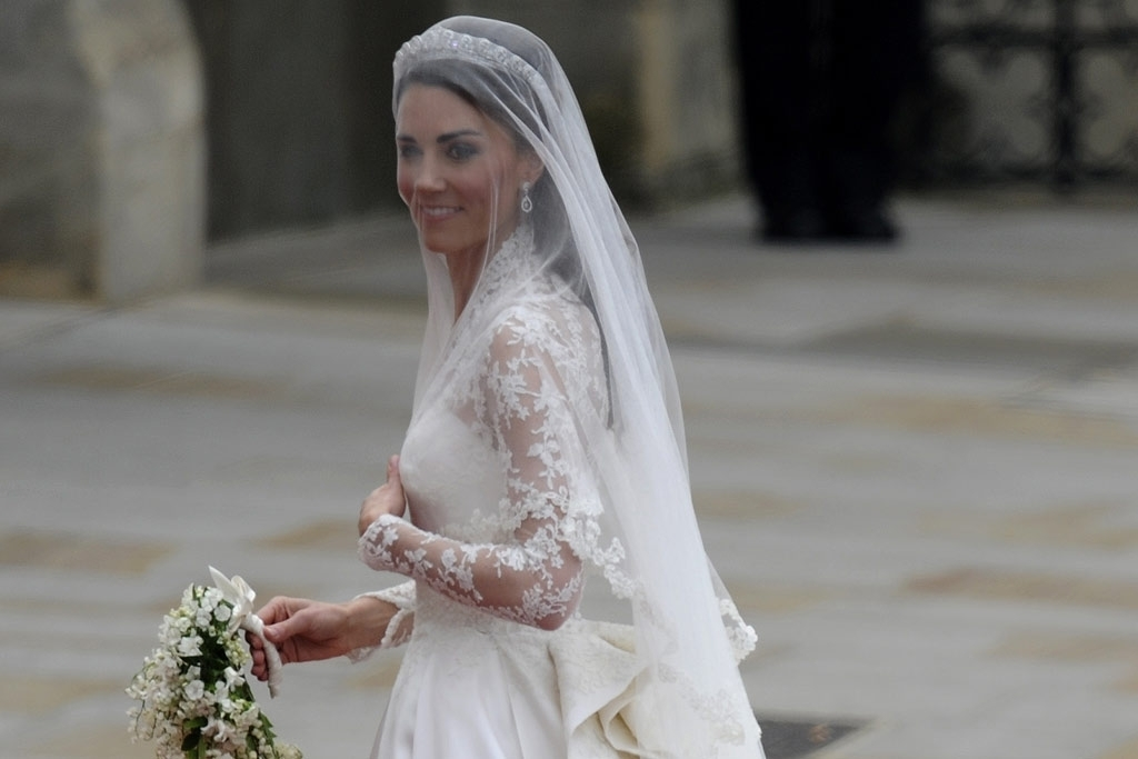 Kate Middleton now the Duchess of Cambridge - Wedding Dress
