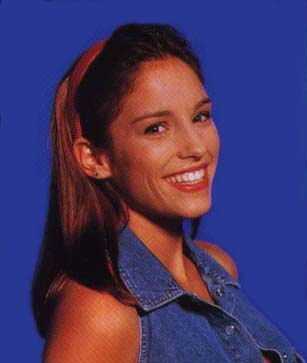 Amy Jo Johnson achtergrond with a portrait titled Amy Jo Johnson Kimberly