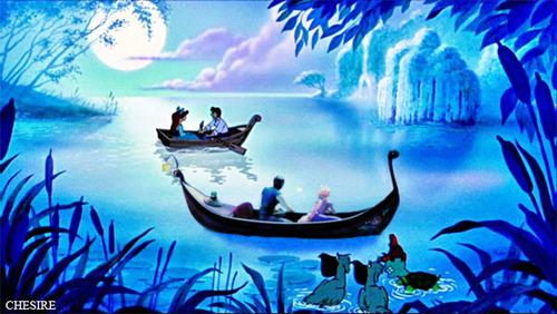 Ariel/Eric & Rapunzel/Flynn Rider