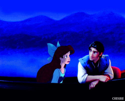 Ariel/Flynn Rider